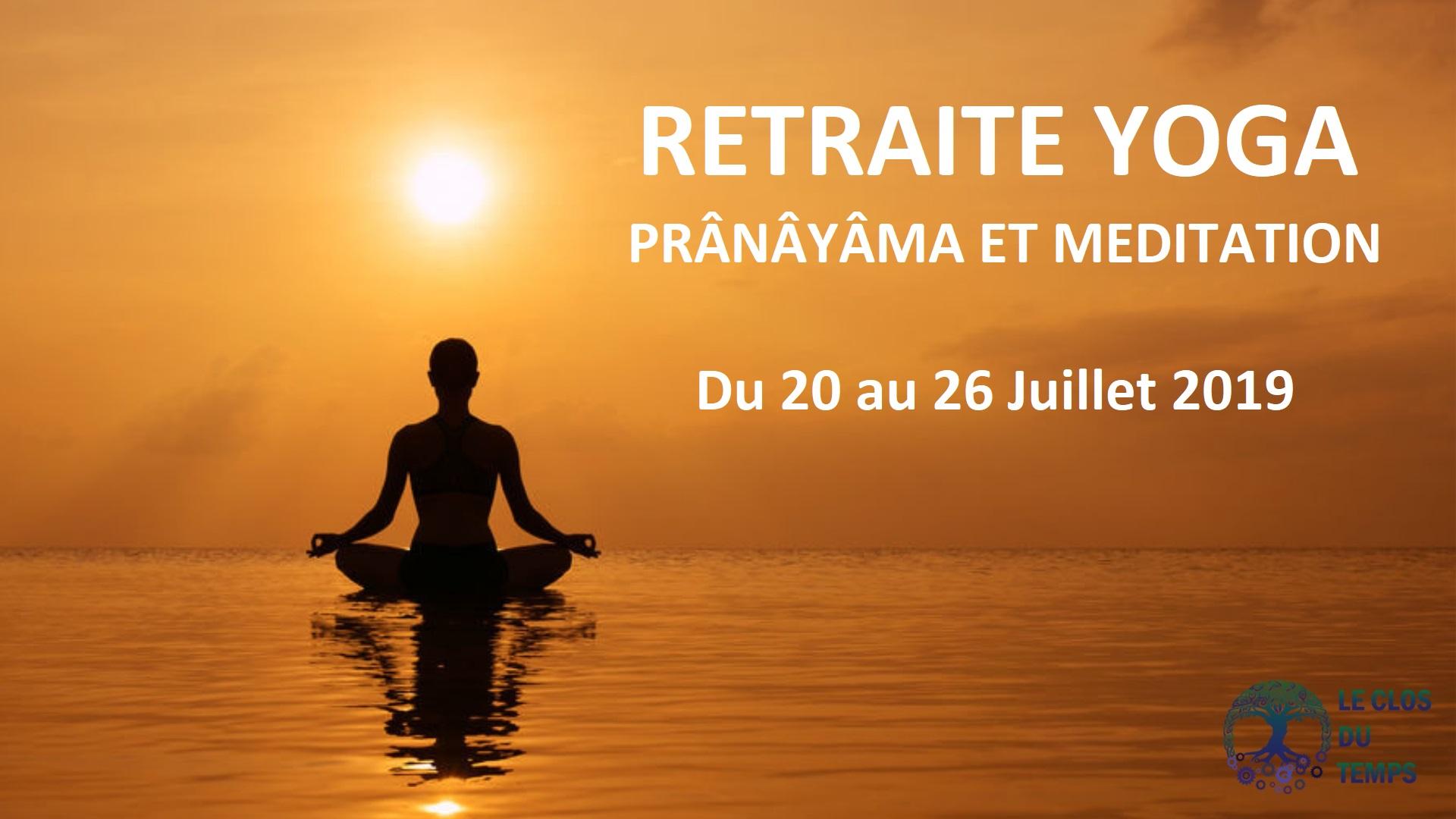 Retraite MÈditation et Yoga Pranayama